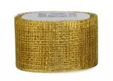 Sinamay Ribbon - Gold/Gold