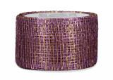 Sinamay Ribbon - Lavender/Gold
