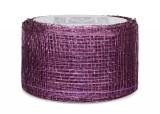 Sinamay Ribbon - Violet