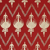 Gift Wrap - Ikat - Red/Metallic Red