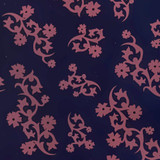 Gift Wrap - Scandinavian Holiday - Navy/Pink
