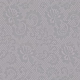 New! Gift Wrap - Lace - Light Grey/Metallic Grey