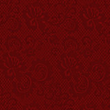 Gift Wrap - Lace - Crimson/Metallic Crimson