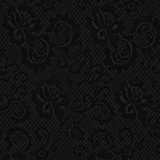 New! Gift Wrap - Lace - Black/Metallic Black