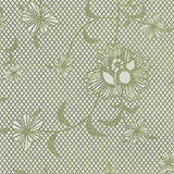 Gift Wrap - Floral Lace - Cream/Metallic Cream