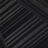 New! Gift Wrap - Lines - Metallic Black