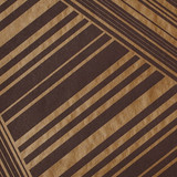 New! Gift Wrap - Lines - Metallic Copper