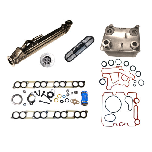 2004-2010 Ford 6.0L EGR and Oil Cooler Package #1