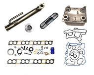 2003-2004 Ford 6.0L EGR and Oil Cooler Package #1