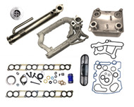 2003-2004 Ford 6.0L EGR and Oil Cooler Package #2