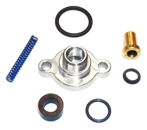 ford 7 3l fuel pressure regulator billet valve cap kit