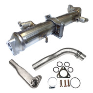 "EGR Cooler International/Navistar DT466 DT570 HT570 2004-2009 (17"" Weld to Weld)"