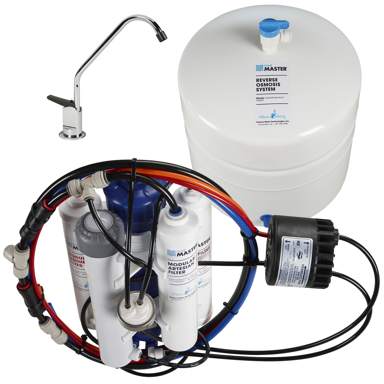 Home Water Filter System Home Master Hydroperfection Reverse Osmosis Water Filtration System