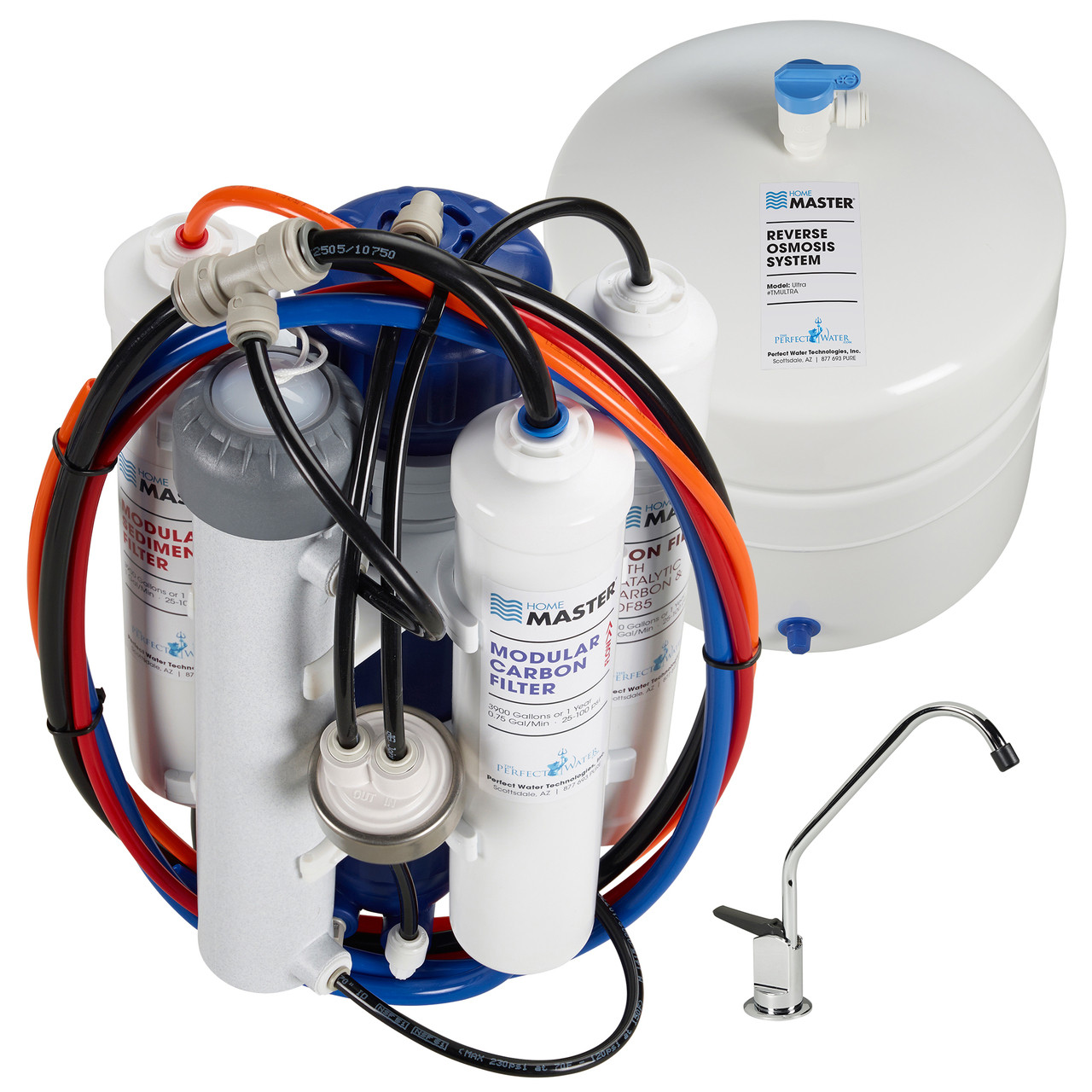 Home Water Filter System Home Master Ultra Reverse Osmosis Water Filtration System