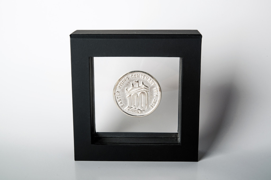 Solid Silver Limited Edition Centenary Coin