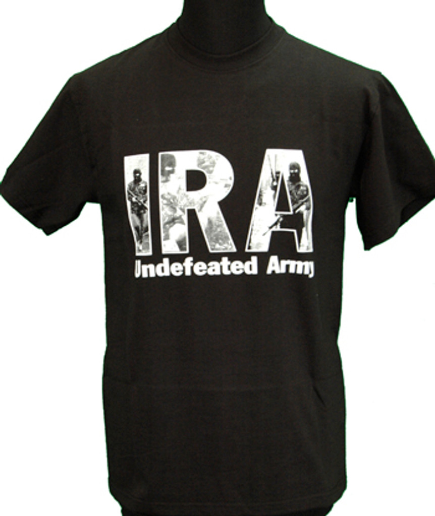 Historical IRA Undefeated Army T Shirt