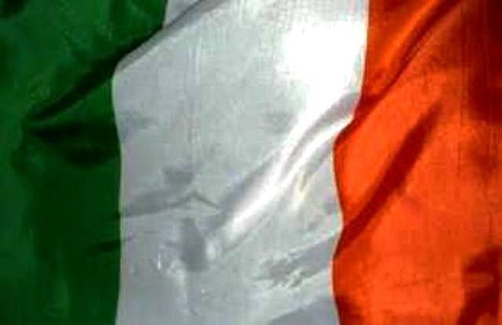 Irish Burial Flag (Handmade)