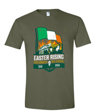 REVOLUTION 1916 MILITARY GREEN T SHIRT
