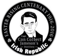 Con Colbert: 1916 Centenary Badge