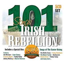 101 Songs of Irish Rebellion - 5CD Set