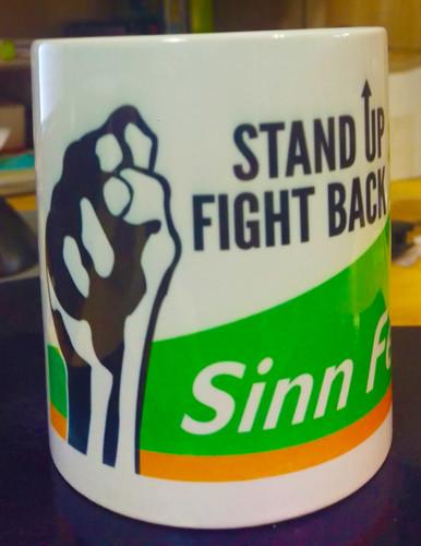 Sinn Féin-Stand Up Fight Back Mug