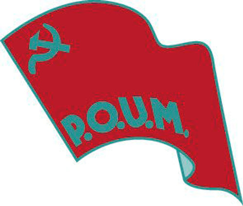 The Workers Party of Marxist Unification (POUM) Badge