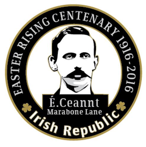 Éamonn Ceannt 1916 Centenary Badge