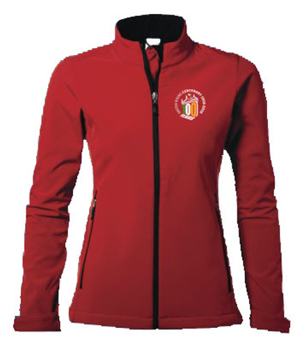 Womens 100 YEARS Soft Shell Jacket