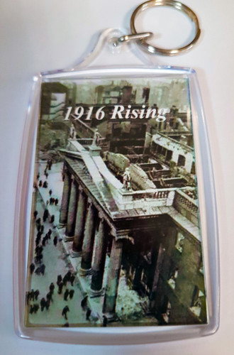 1916 Rising Key Ring