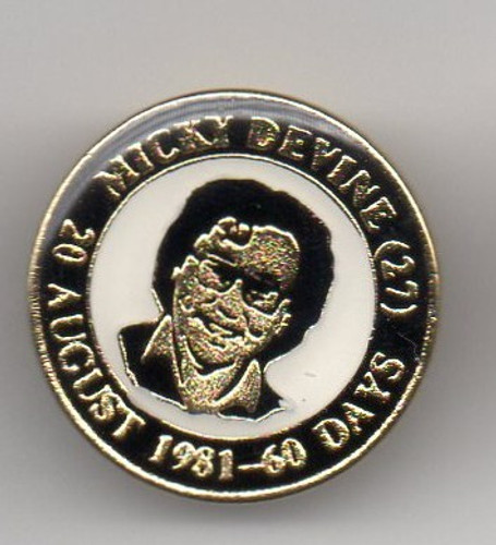 Mickey Devine pin