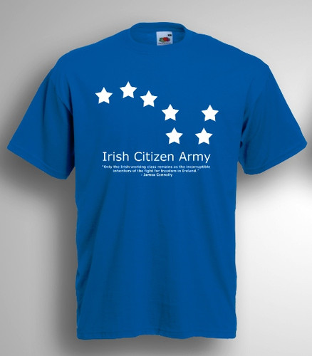 Irish Citizen Army Starry Plough t-shirt