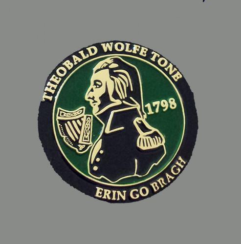 Theobald Wolfe Tone pin