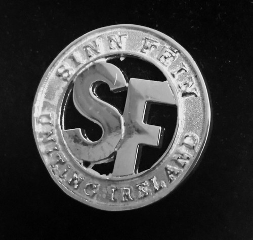 Sinn Féin Uniting Ireland Silver Pin