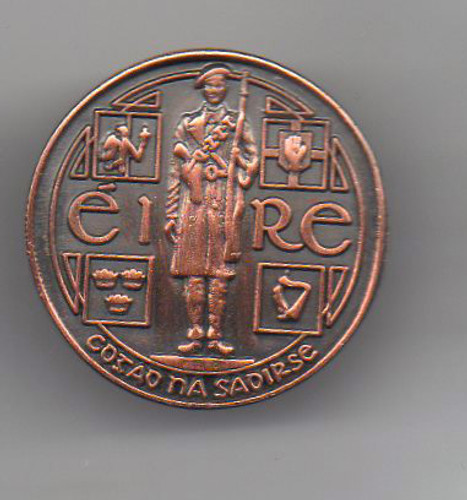 Óglaigh na hÉireann 3D badge-The Fight For Freedom