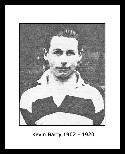 Kevin Barry 1902-1920 Framed Picture