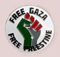 Free Gaza-Free Palestine Badge