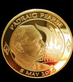Padraig Pearse Gold Plated Centenary Coin