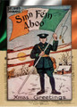 1916 Sinn Féin Aboo Christmas Card Reproduction