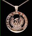 Silver Phoenix Pendant