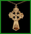 Gold Oglaigh na hEireann Celtic Cross