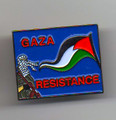 GAZA Resistance pin