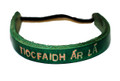 Tiocfaidh r L Leather wrist band
