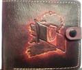Tri-Colour Leather Wallet