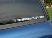TrailBlazerSS.com Decal