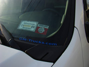 GM-Trucks.com Decal - Reflective Dark Blue