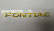 04-06 GTO PONTIAC Emblem Overlay