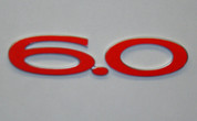 05-06 GTO 6.0 Emblem Overlay