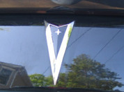 Front, Rear Arrowhead Overlay Decals - Pontiac G8