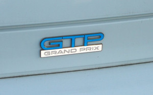 94-96 Grand Prix GTP Badge Overlay Decal