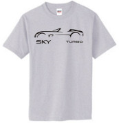 Saturn SKY TURBO Outline T-Shirt